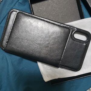 NIB Kihuuwey iPhone Xs Max Wallet Phone Case